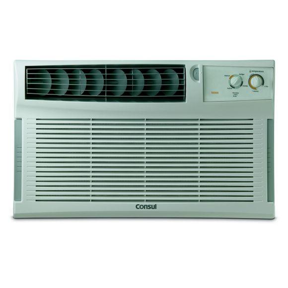 Ar condicionado janela 18000 BTUs/h Consul quente e frio com filtro antipoeira