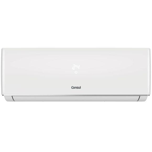 Ar condicionado split 9000 BTUs/h Consul quente e frio com display discreto e unidade externa compacta 220V