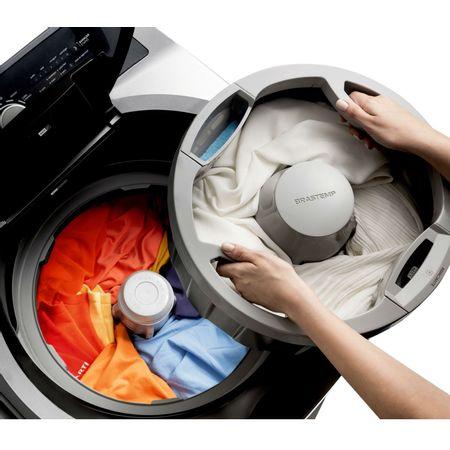 Máquina de Lavar Brastemp 15kg Double Wash Grafite Metálico com Ciclo Edredom