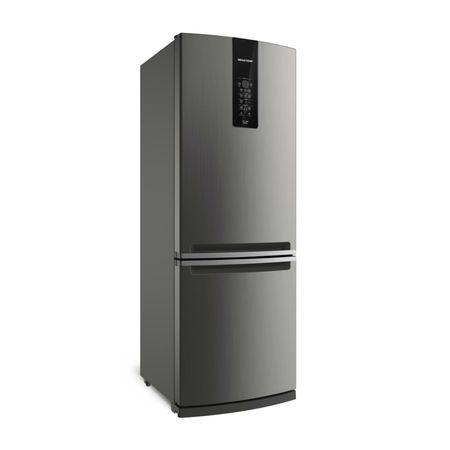Geladeira Brastemp Frost Free Inverse 478 litros cor Inox com Turbo Ice