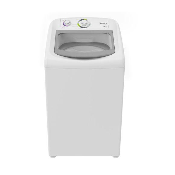 Máquina de Lavar Consul 8kg Dosagem Extra Econômica e Ciclo Edredom - CWB08AB 110V