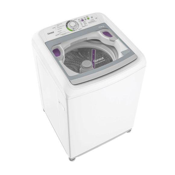 Máquina de Lavar Consul 15kg Dosagem Extra Econômica e Ciclo Edredom - CWE15 110V
