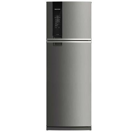 Geladeira Brastemp Frost Free Duplex 478 litros cor Inox com Freezer Control...