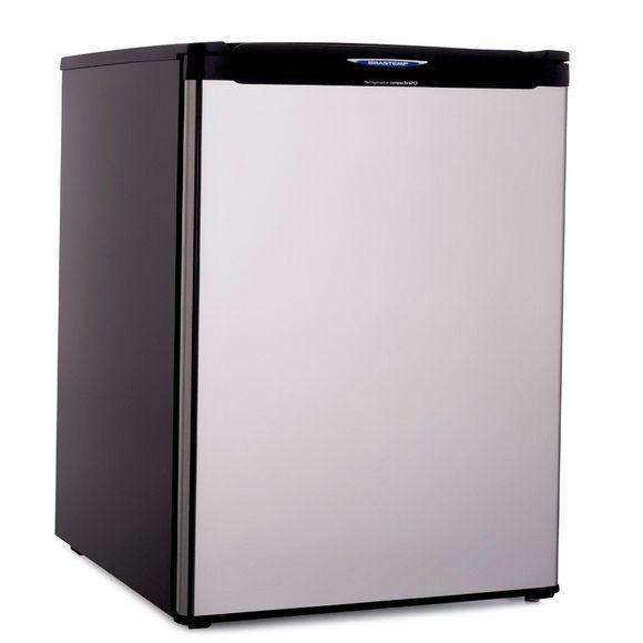Oferta Frigobar Brastemp 120 litros cor Inox - BRC12XK por R$ 2199