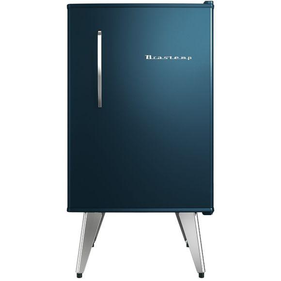 Oferta Frigobar Brastemp Retrô 76 litros Midnight Blue - BRA08BZ por R$ 1959